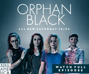 ALL-NEW ORPHAN BLACK SATURDAYS 10/9C